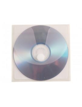 Envelope para CD Q-Connect Auto Adesivo com velcro-bolsa Pack 5