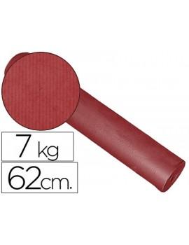 Papel Kraft liso bobine 60grs 62cm x 200mts Bordeaux