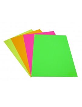 Cartolina Fluorescente - 220grs - 50 x 65cm