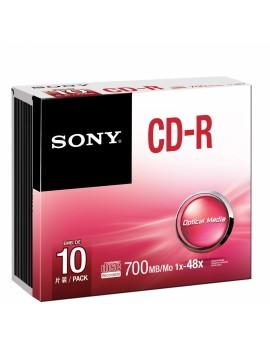CD-R Sony - 10 Unidades