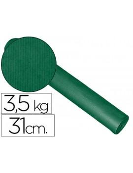 Papel Kraft liso bobine 60grs 31xm x 200mts Verde