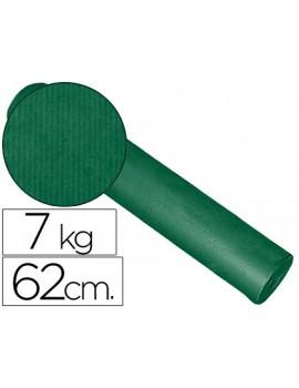 Papel Kraft liso bobine 60grs 62cm x 200mts Verde