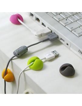Organizador de fios Clip de fixação