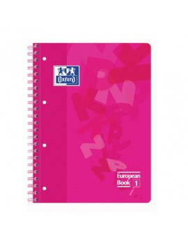 Caderno Oxford European Book 1 Capa Plástica A4