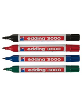 Marcador Permanente Edding 3000R