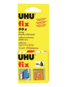 Autocolantes Dupla Face UHU FIX Ref.40259