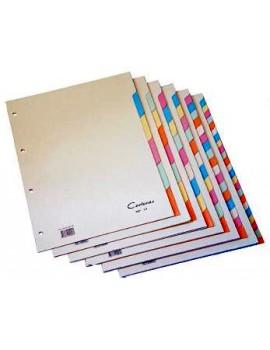 Separadores Cartonex 180/A-Z