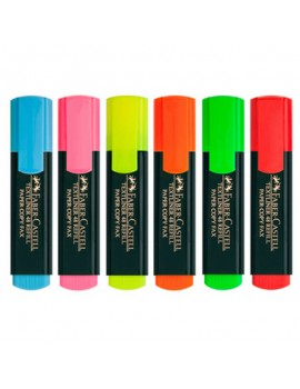 Marcador Fluorescente Faber 48