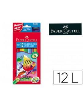 Lápis de cor Faber Castell 120212 - caixa com 12