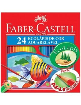 Lápis de cor Faber Castell 120224  - caixa com 24
