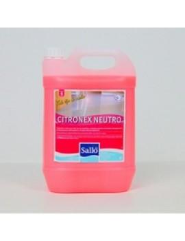 Detergente para pavimentos neutro Salló Citronex 5lt
