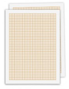 Bloco de papel milimétrico - A4