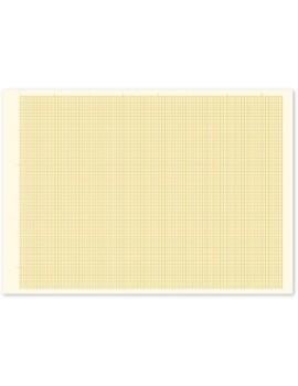 Bloco de papel milimétrico - A3