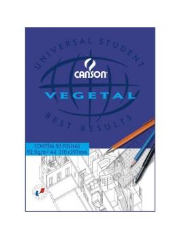 Bloco de papel Vegetal Canson 5626 - A4