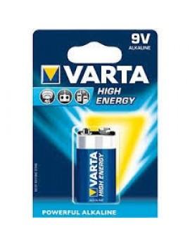 Pilhas Varta High Energy - 9V