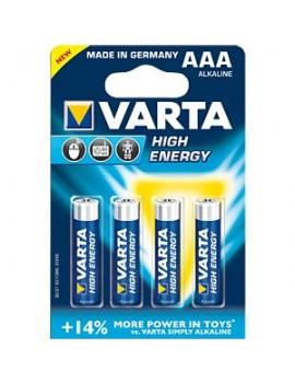 Pilha Varta High Energy - AAA