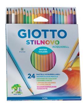Lápis de cor Giotto 255800 - caixa com 24