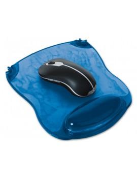 Tapete para Rato Q-Connect Azul c/ Apoio em Gel