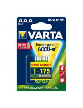 Pilhas Varta Recarregável LongLife - AAA