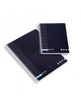 Caderno Espiral Ancor Classic Strips A5 - Capa Dura