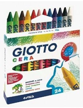 Lápis de cera Giotto 282200 - caixa com 24