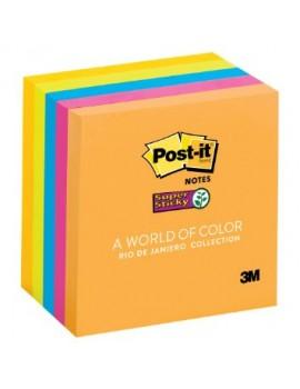 Bloco Post-it Super Sticky 655-65S Rio