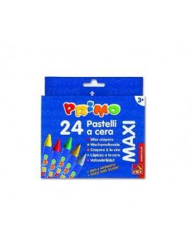 Lápis de cera CMP Primo Maxi Ref.PC24MX - caixa com 24