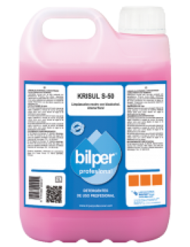 Lava tudo Bilper Krisul S-50 Neutro c/Bio Alcool 5Lt