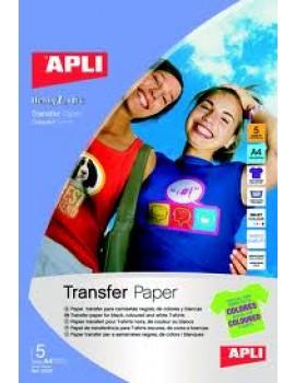 Papel Transfer A4 Apli Ref.10247