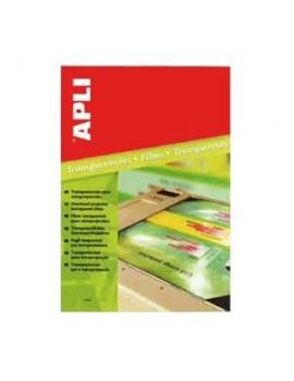 Acetatos Apli 1495 - A4 - impressão laser a cores