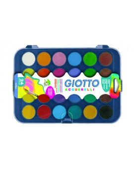 Aguarela Giotto 332000 - caixa com 24 pastilhas