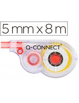 Fita correctora branca Q-Connect 5 mm x 8 mts