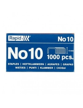 Agrafes Rapid Blue Nº10 Cx.1000